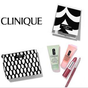 6 pieces Clinique by Marimekko Makeup Bundle